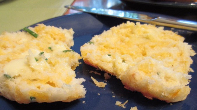 Cheese and Chive Biscuits