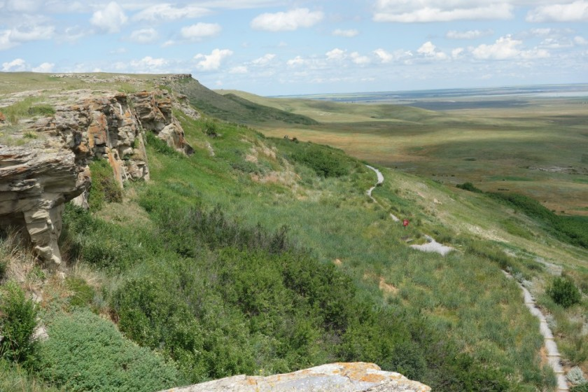 Head Smashed In Buffalo Jump 173