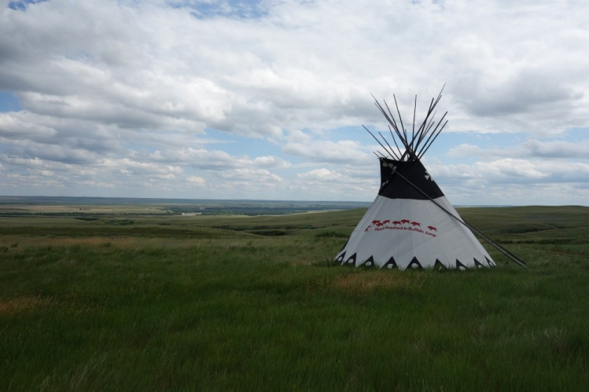 Head Smashed In Buffalo Jump 376