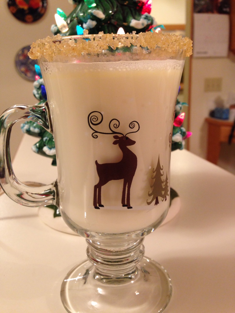 White Hot Chocolate with Triple Sec