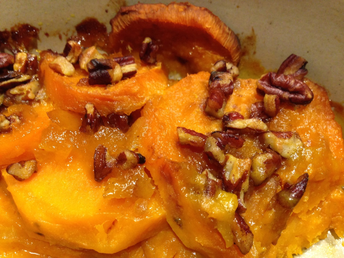 Sweet Potatoes with Clementine and Ginger