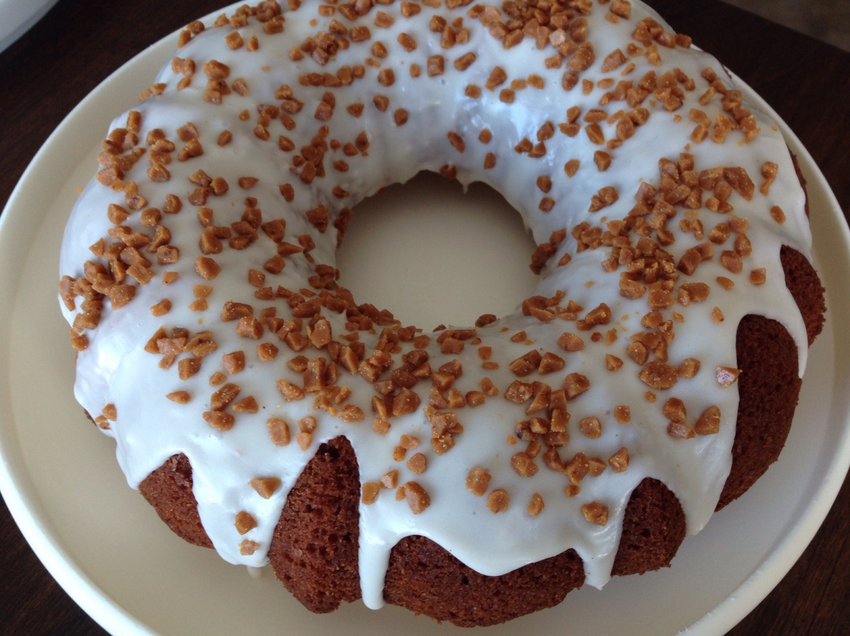 Toffee Spice Cake