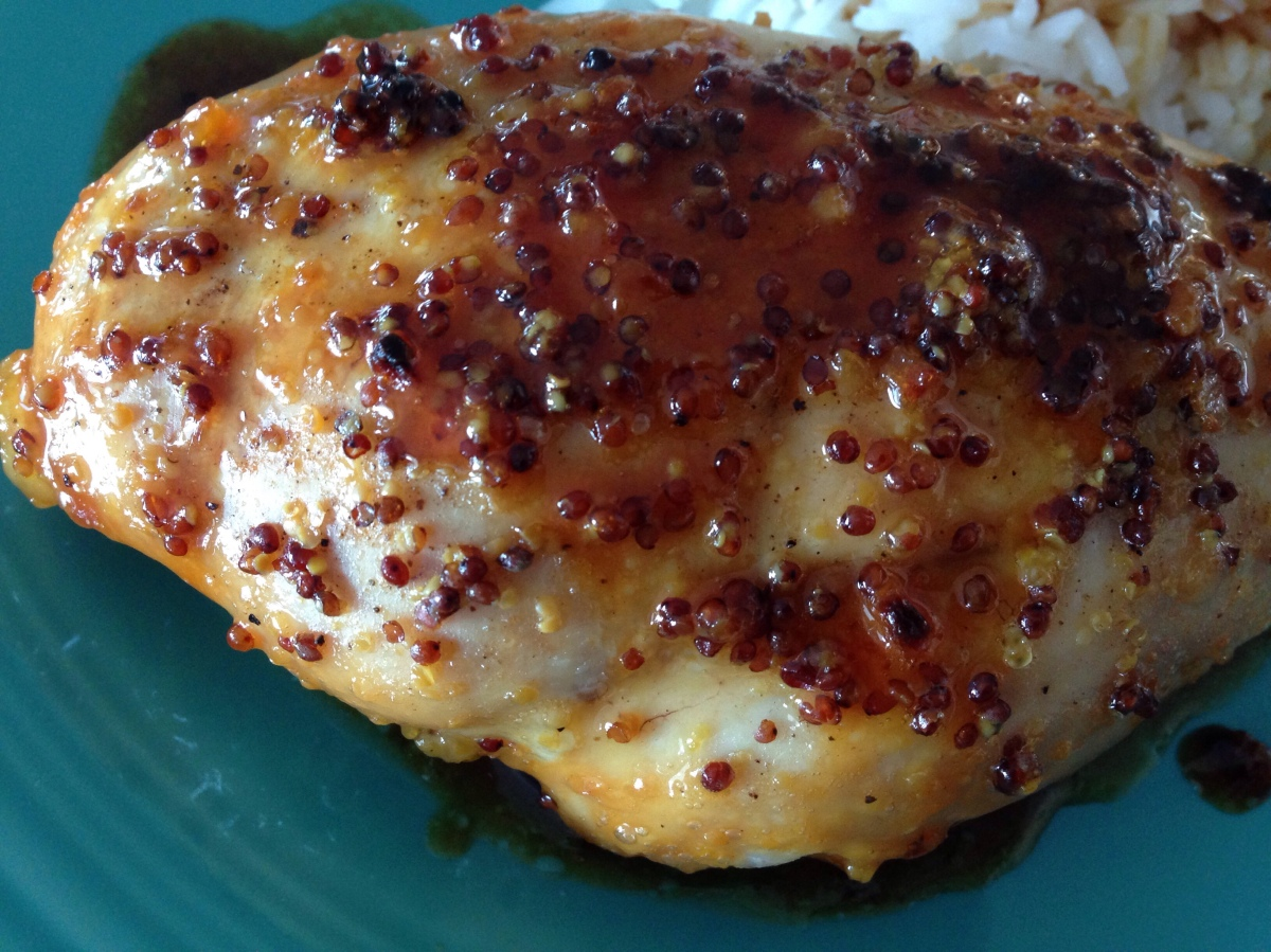 Garlic Honey Mustard Chicken